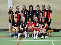 Solent Ladies Volleyball Team